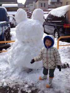 Saori snow bunny