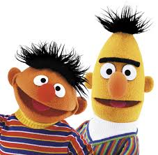 ernie and bert healthy