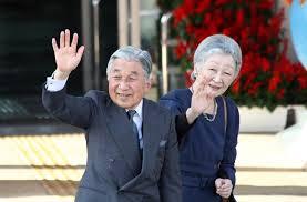 emperor waving