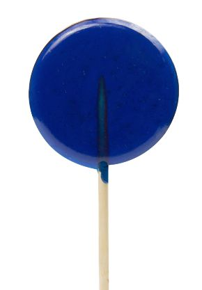 blue lolly